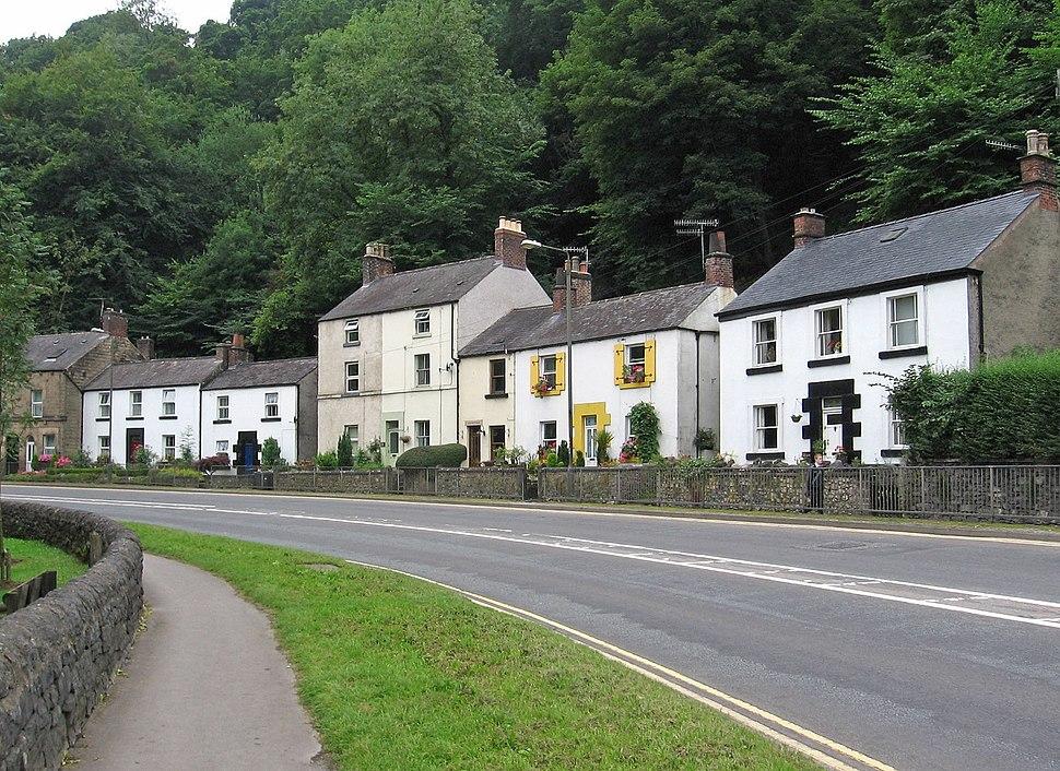 A6 (Dale Road) in Matlock Bath, Derbyshire - Geograph-4595383