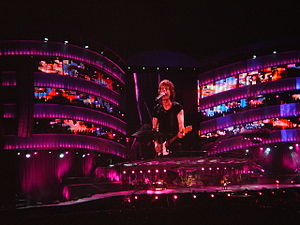 A Bigger Bang (concert tour) - Image: A Bigger Bang Twickenham 2