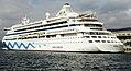 AIDA Kreuzfahrtschiff im Hafen von Trieste, Italien.jpg