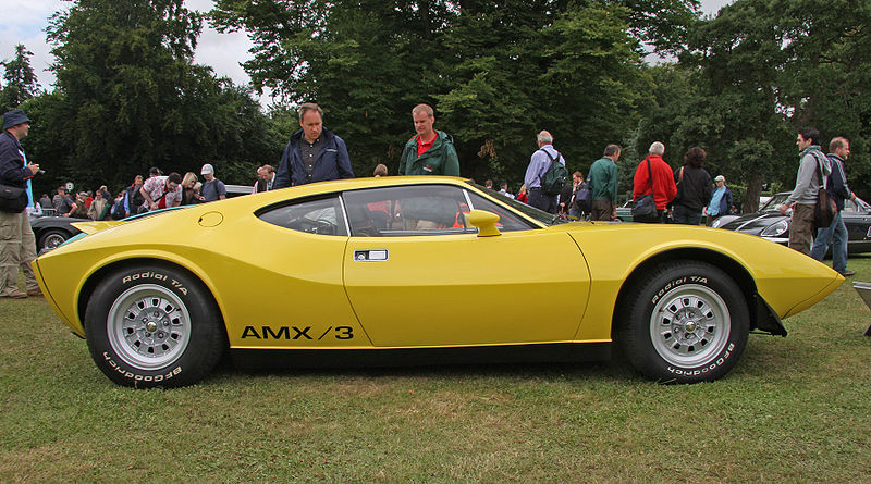Automobiles you don't see everyday... - Page 2 800px-AMC_AMX3_Side