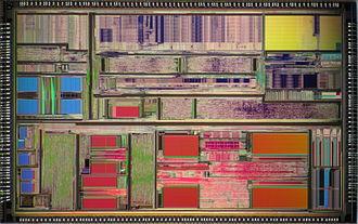 AMD K5 - AMD K5 PR150 (5k86) die shot