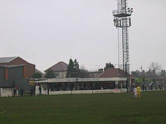 Armthorpe Welfare F.C. - Image: ARMTHORPE WELFARE FC V GLAPWELL FC 11 02 2006 NCEL PREMIER DIVISION