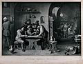 A Dutch country tavern with a drinker being given encouragem Wellcome V0019595.jpg