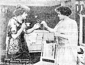 A Gentleman of Leisure (1915 film) - A scene from the film
