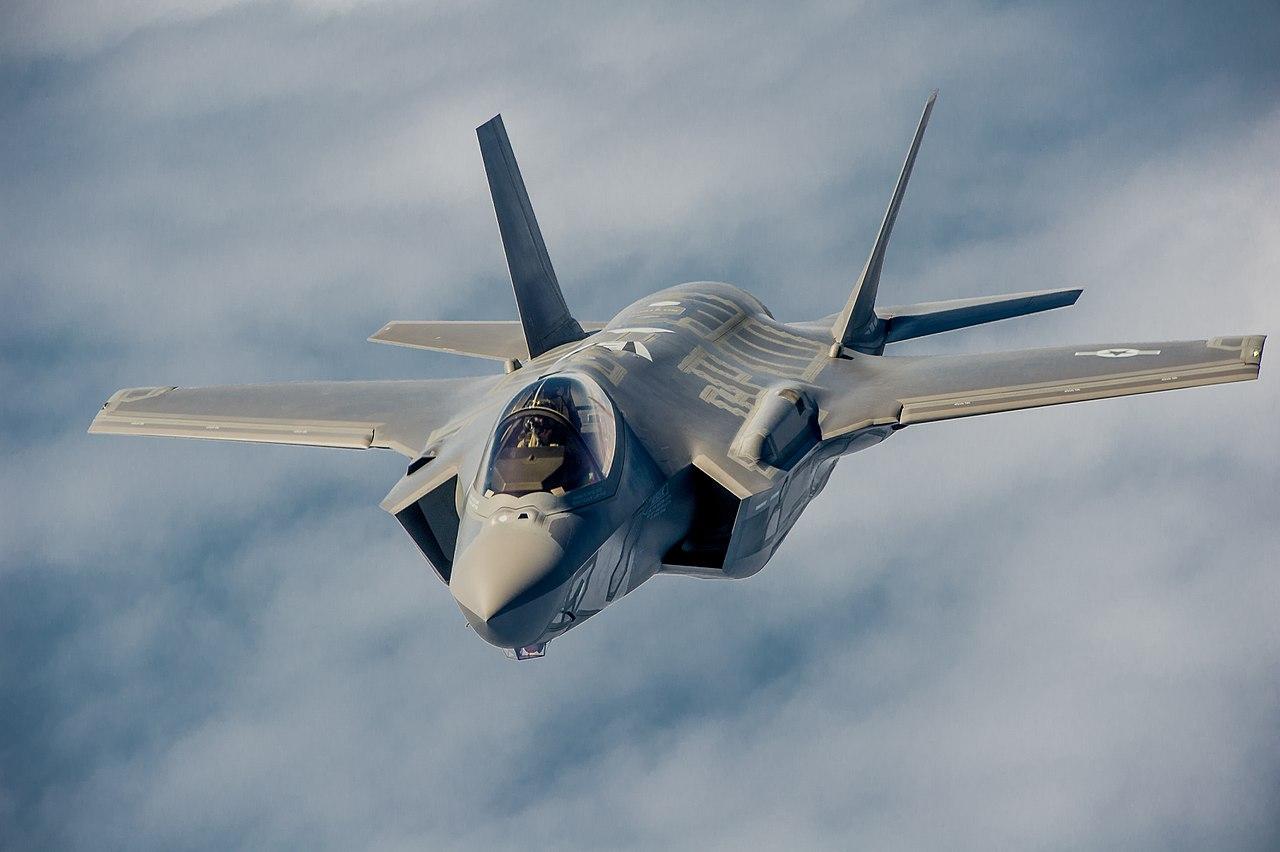 Un F-35A.