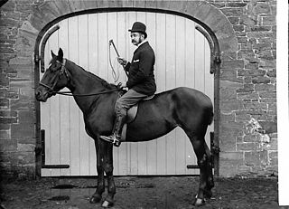 A man on horseback (Wakefield)
