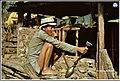 A man smoking Hookah in western Nepal in 1968..jpg