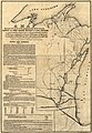 A map showing the route of the proposed rail road from the Copper and Iron Mining District of Lake Superior to connect with rail roads built or being constructed in the state of Wisconsin as adopted LOC 98688391.jpg