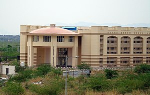 Central University of Rajasthan - A department building (Permanent)