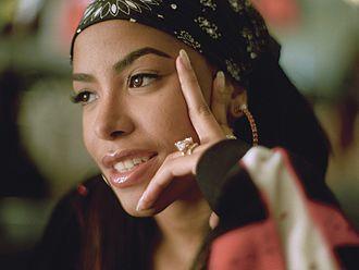 Exodus (Utada Hikaru album) - Tracks from Exodus were heavily compared to American recording artist Aaliyah (pictured).