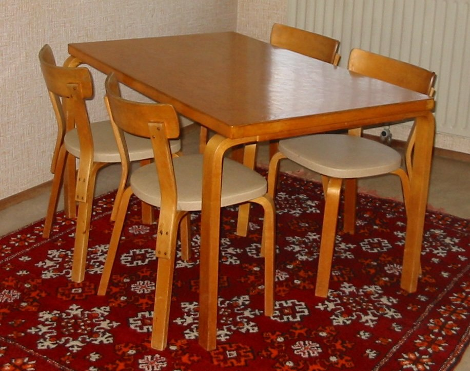 Aalto table and chairs1