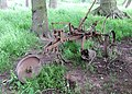 Abandoned. Old ploughing Equipment - geograph.org.uk - 456610.jpg