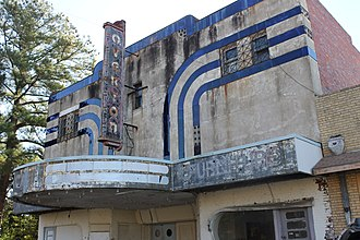 Overton, Texas - The abandoned Overton Theater