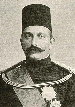 Khedive - Abbas Hilmi Pasha, the last Khedive.