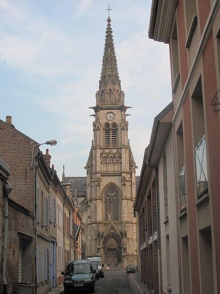L'église Saint-Jacques d'Abbeville sera totalement démolie (Archive 2013)