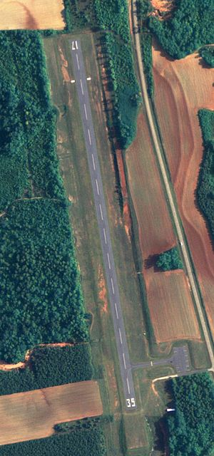 Abbeville Municipal Airport - NAIP aerial image, 24 June 2006