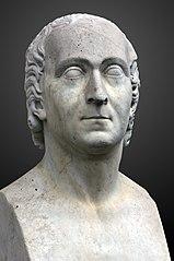 Bust of Abraham Trembley at Jardin Botanique