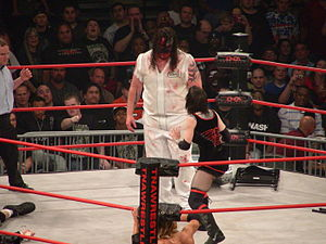Daffney - Daffney facing Abyss in a Monster's Ball match at Slammiversary