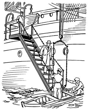 Accommodation ladder - Image: Accommodation ladder (PSF)