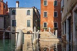 Acqua alta in Venice, Fondamenta di Borgo, 2019.jpg