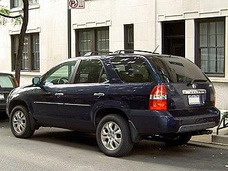 Acura MDX - Acura MDX rear