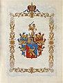 Adelsdiplom - Grossmann von Stahlborn 1842 - Wappen.jpg