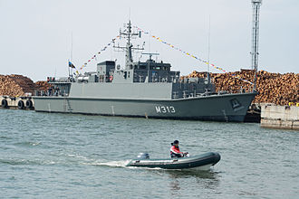 Estonian Navy - EML Admiral Cowan (M313).