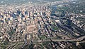 Aerial Minneapolis, Metrodome Deconstruction, and Mississippi River (17405703595).jpg