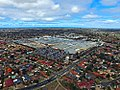 Aerial perspective of Pacific Werribee Shopping Centre. Taken April 2017.jpg