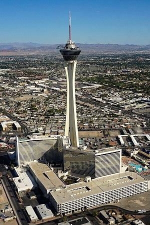 Stratosphere Las Vegas - Image: Aerial view Casino Stratosphere LAS 09 2017 4912