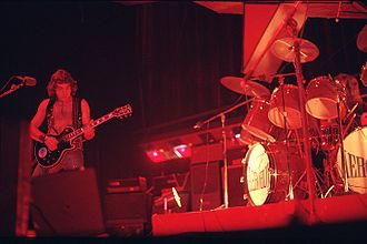 Pappo - Pappo performing with his band Aeroblus, 1977