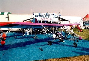 Aero-Works Aerolite 103 - An Aerolite 103 at Oshkosh 2001