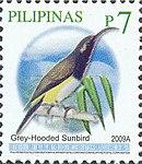 Aethopyga primigenia 2009 stamp of the Philippines.jpg