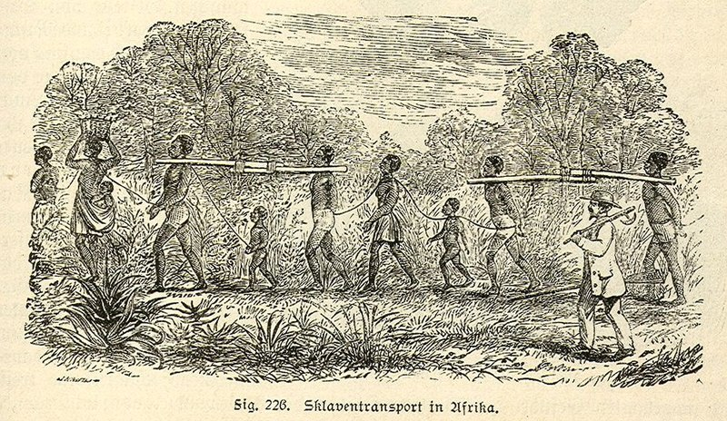 IMAGES DE L'ESCLAVAGE ET DE LA TRAITE NEGRIERE 800px-AfricanSlavesTransport