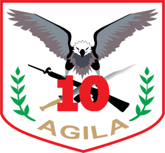 10th Infantry Division (Philippines) - Image: Agila division Logo updated