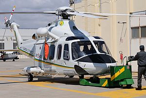 Guardia di Finanza -  Guardia di finanza Agusta AW139
