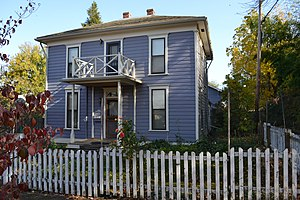 National Register of Historic Places listings in Jackson County, Oregon - Image: Ahlstrom House (Ashland, Oregon)