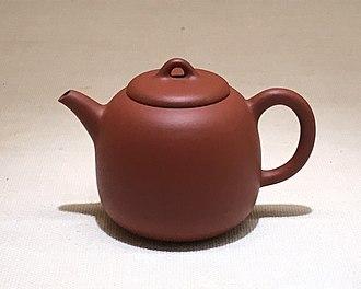 Tokoname ware - Kyūsu tea pot, Taishō era ca. 1921-1925, by Yamada Jōzan I