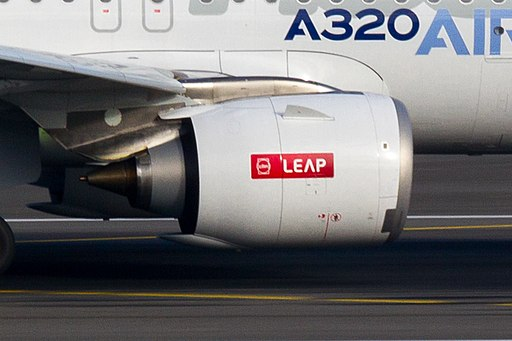 Airbus A320neo CFM LEAP nacelle