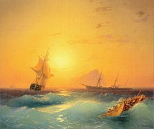Aivazovsky gibraltar