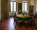 Ajaccio, maison bonaparte, sala da pranzo 01.jpg