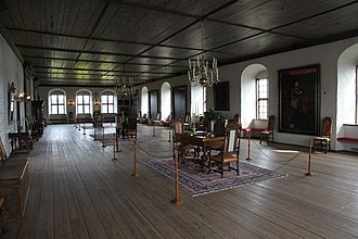 Akershus Fortress - The hall of King Christian IV