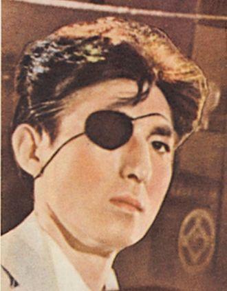 Akihiko Hirata - Hirata on the theatrical release poster for Godzilla (1954)