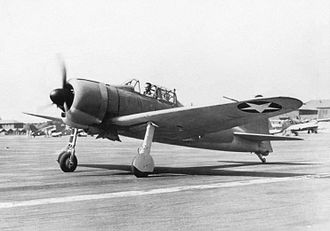 Akutan Zero - Eddie Sanders taxiing the plane after its first test flight, September 20, 1942