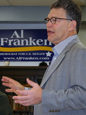 Al Franken - Franken campaigning for the U.S. Senate in 2008