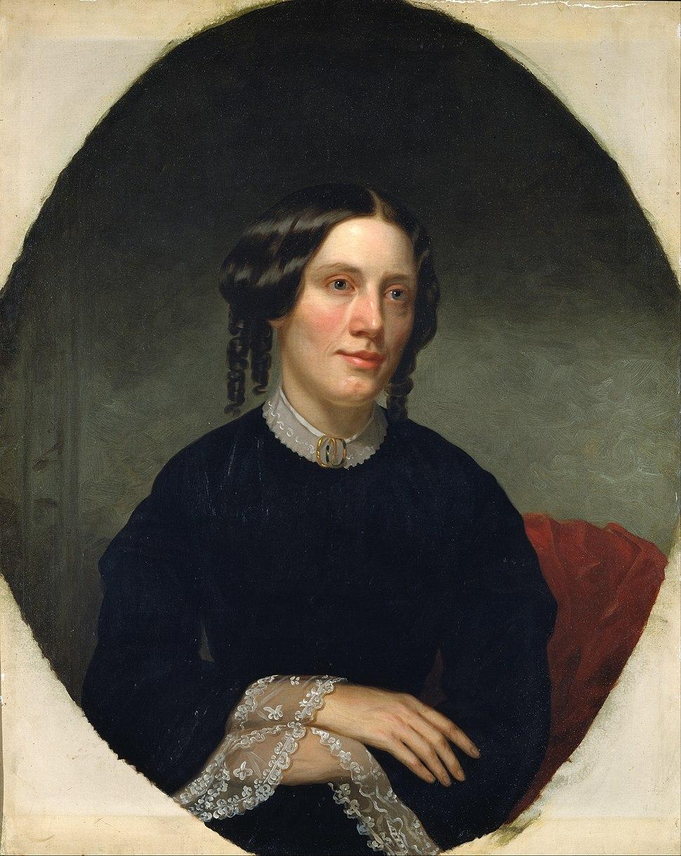 Alanson Fisher - Harriet Beecher Stowe - Google Art Project