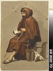 Istuva munkki, malliharjoitelma