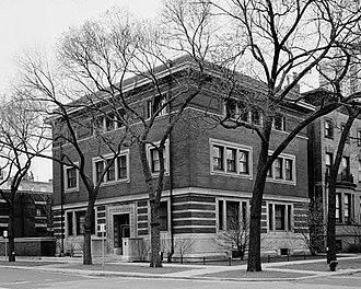 Madlener House - 1964 HABS photo