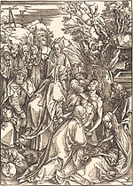 Albrecht Dürer, The Deposition, c. 1497, NGA 6688.jpg