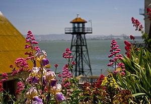 English: Alcatraz Island outside San Francisco...
